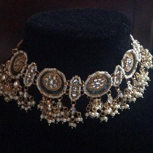 Jewelry - Meeanakari gold plated choker